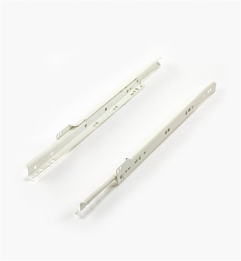 02K5014 - 350mm White Slides, pr.