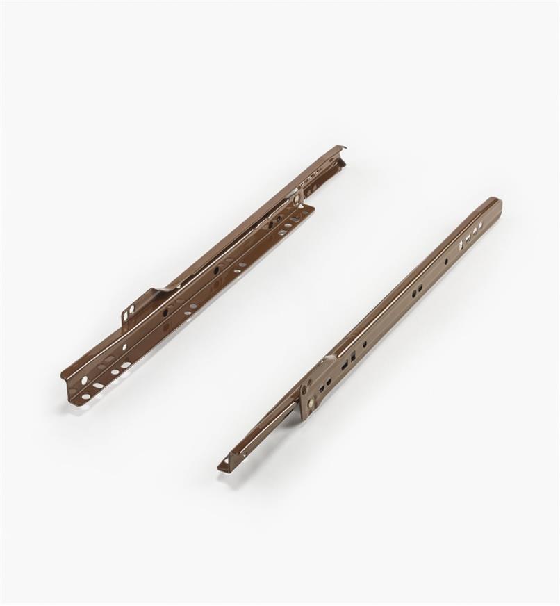 02K5112 - 300mm Brown Slides, pr.