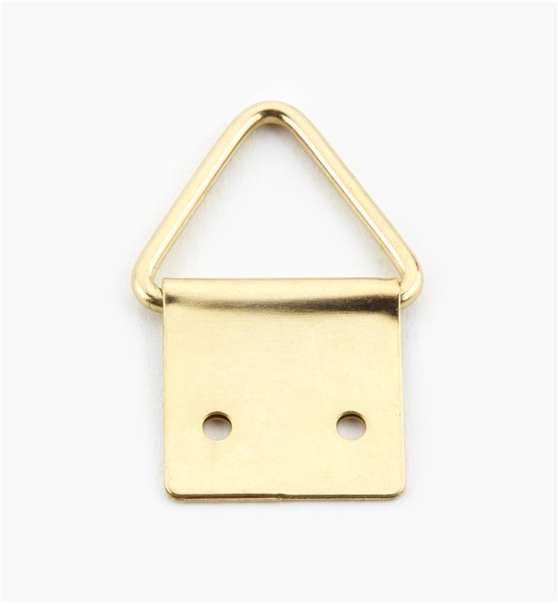 00F1312 - Petits supports à anneau triangulaire, 20 mm x 31 mm, le paquet de 20