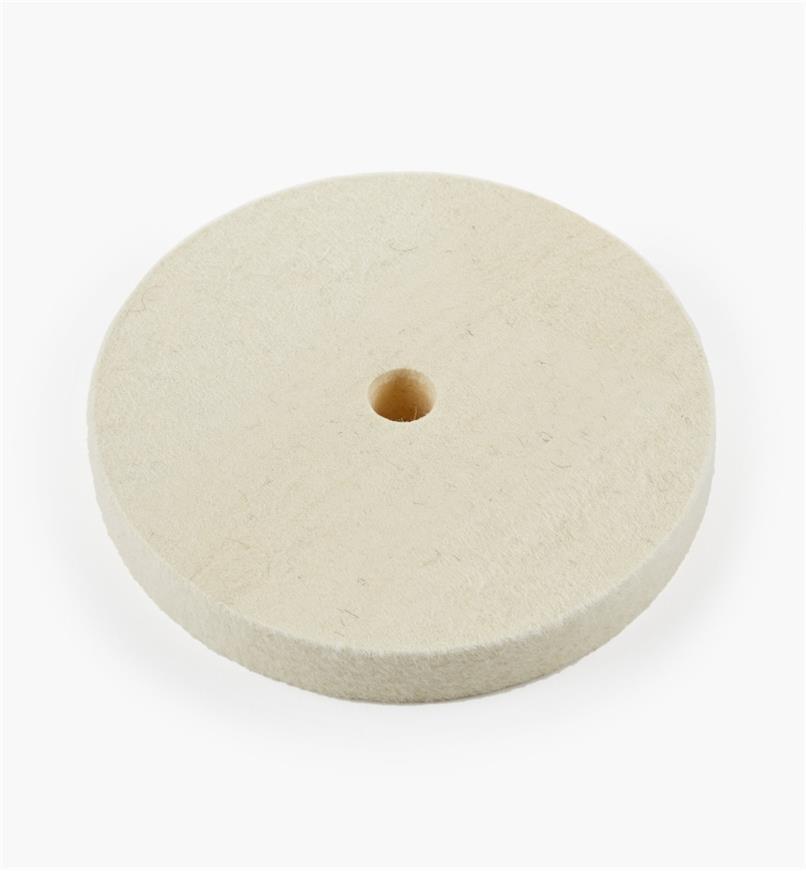 08M4003 - Disque à polir en feutre de densité moyenne, 6pox3/4po