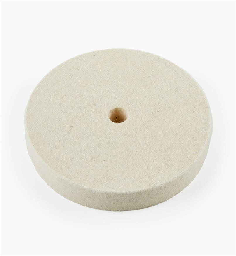 08M4005 - Disque à polir en feutre de densité moyenne, 6pox1po