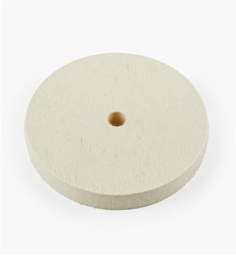 08M4103 - Disque à polir en feutre dur, 6pox3/4po