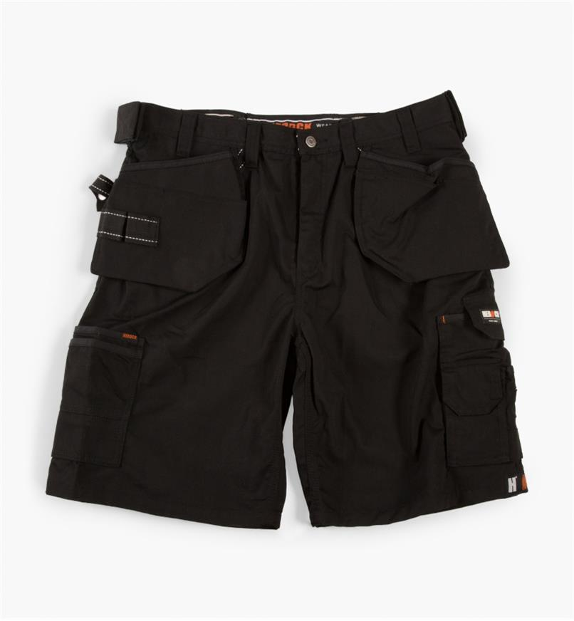 "68K4905B - 38"" Black Pallas Shorts"