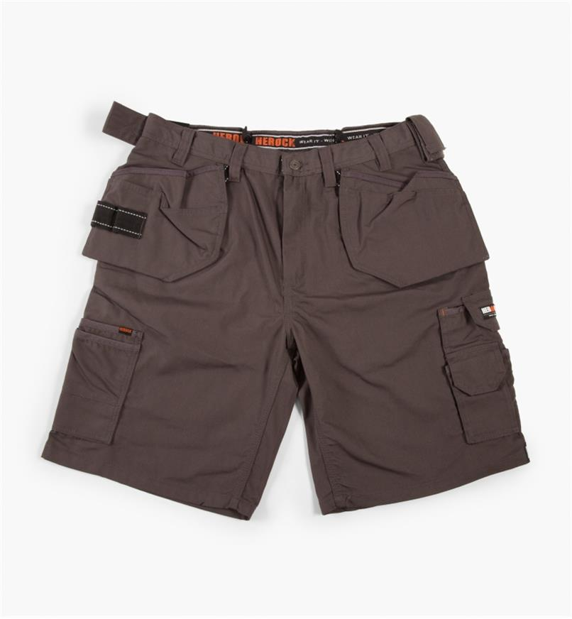 "68K4905G - 38"" Gray Pallas Shorts"
