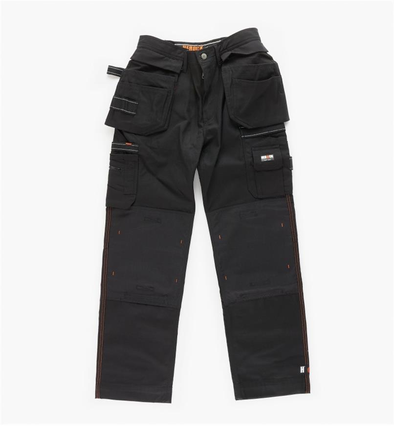 "68K4942B - 32"" Black Heavyweight Pants"