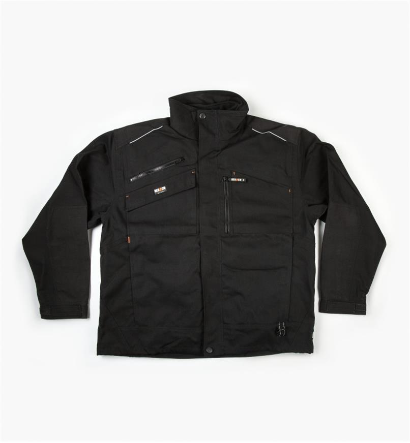 Herock Convertible Work Jacket, Black