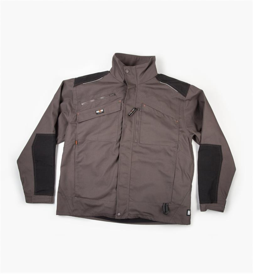 Small Herock Convertible Work Jacket, Gray