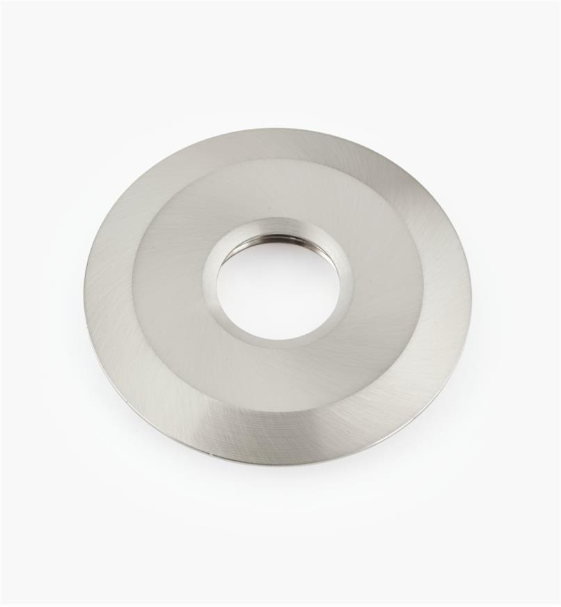 "00U4362 - 2 3/4"" Brushed Steel Round Aluminum Trim Ring"