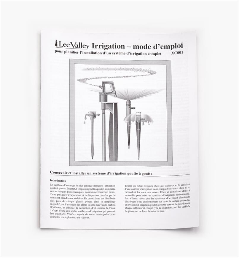 XC001 - Irrigation – mode d'emploi – français