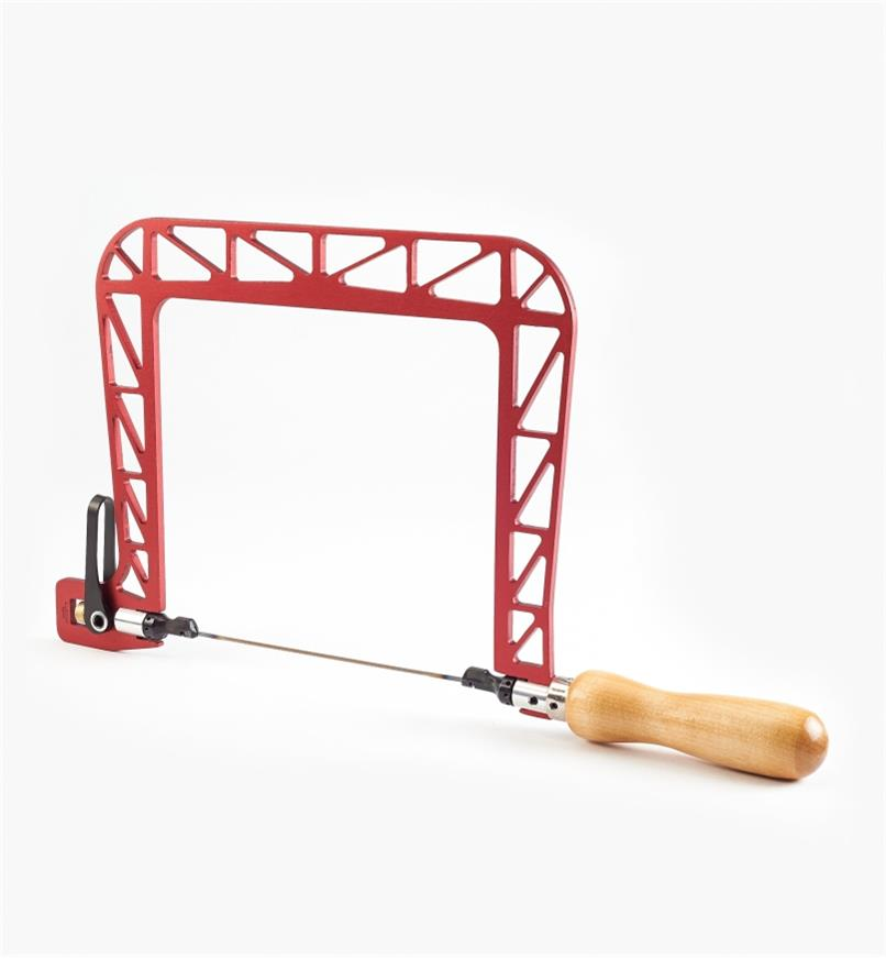 02T1060 - Knew Concepts Aluminum Coping Saw, 6 1/2""