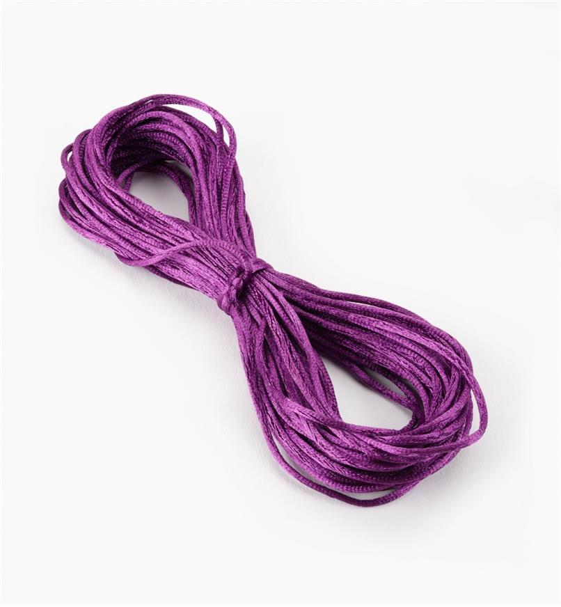 09A0712 - Royal Purple Rattail Cord