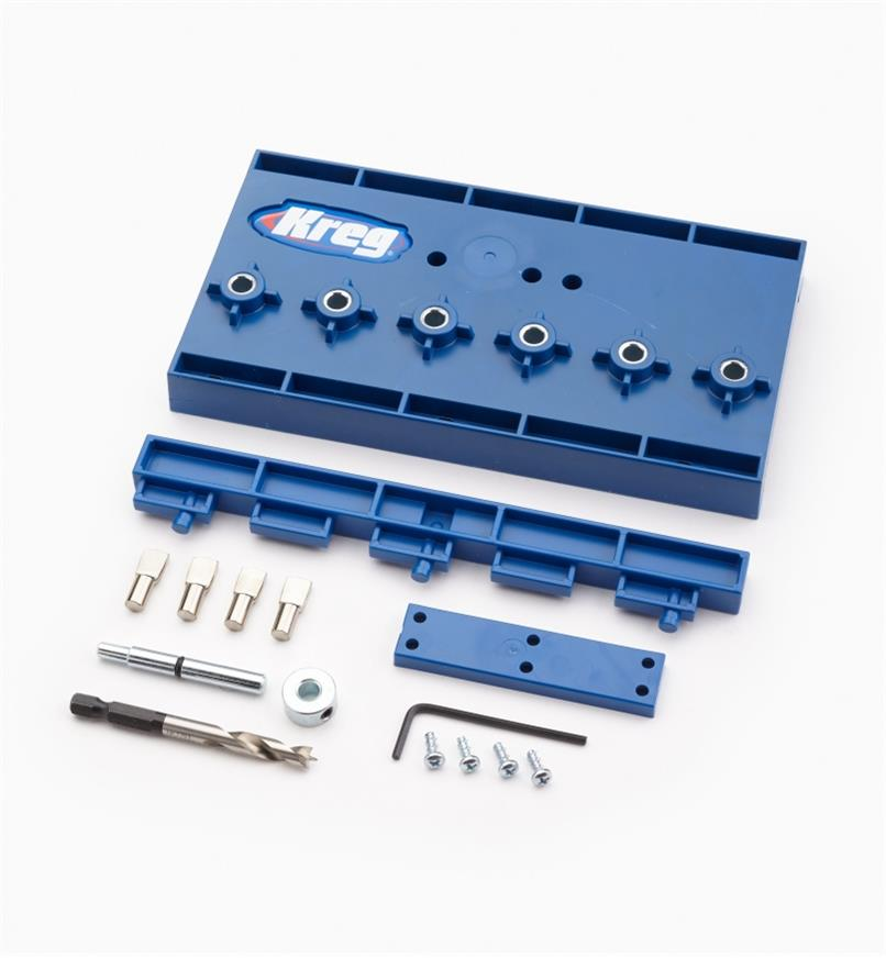"25K6074 - 1/4"" Kreg Shelf Pin Jig Kit"