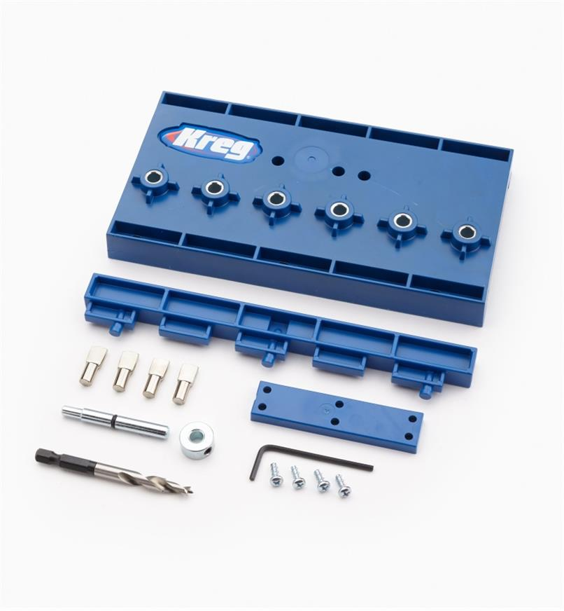 25K6075 - 5mm Kreg Shelf Pin Jig Kit