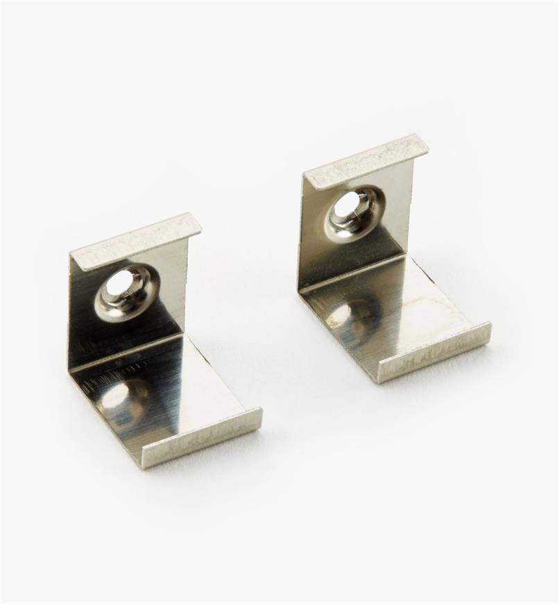 00U4286 - Mounting Clips for Corner-Mount Channel, pair