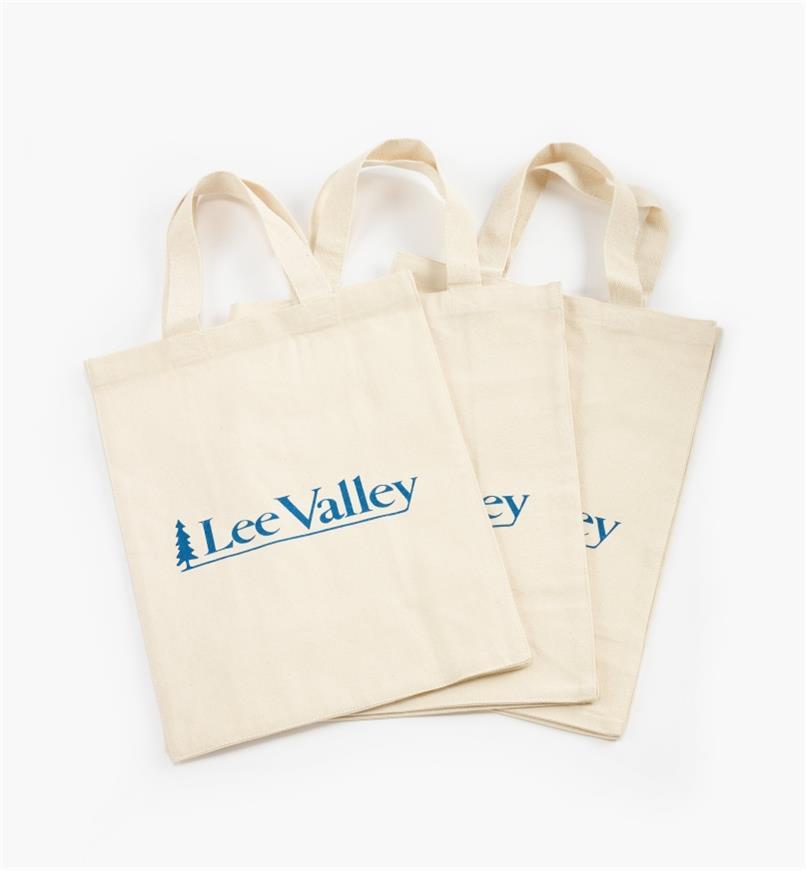 45K1682 - Lee Valley Totes, pkg. of 3