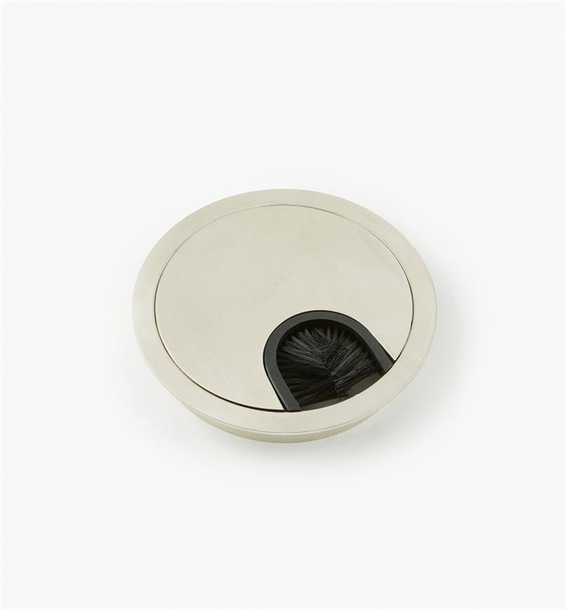 00U1151 - Passe-câble circulaire en métal, diamètre de 80mm