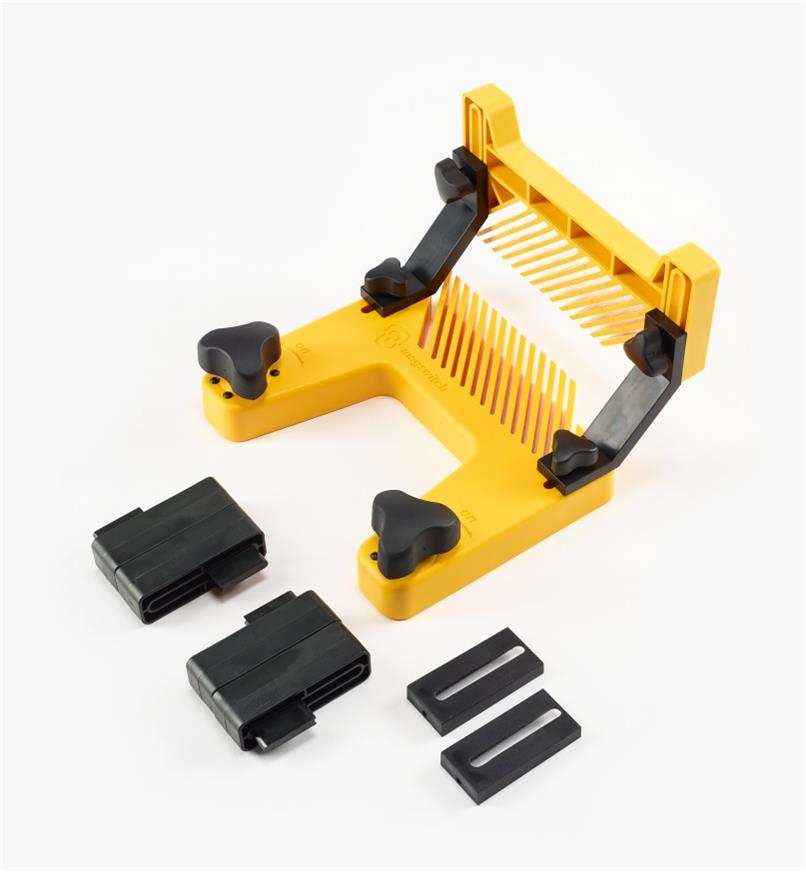 03J7592 - Magnetic Featherboard with Hold-Down Attachment