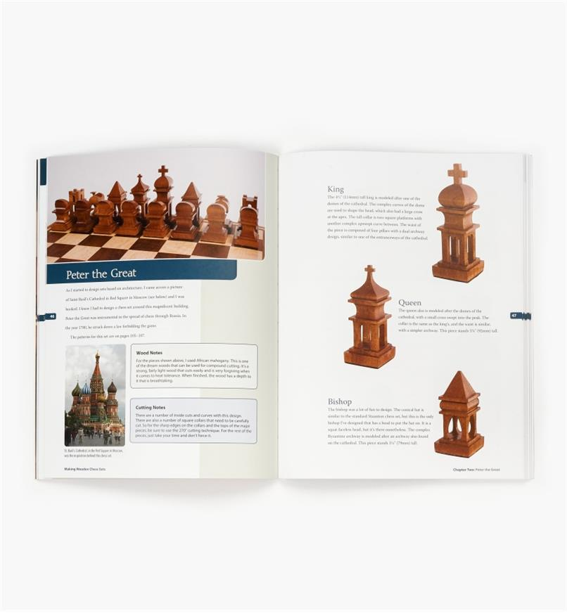 49L5075 - Making Wooden Chess Sets