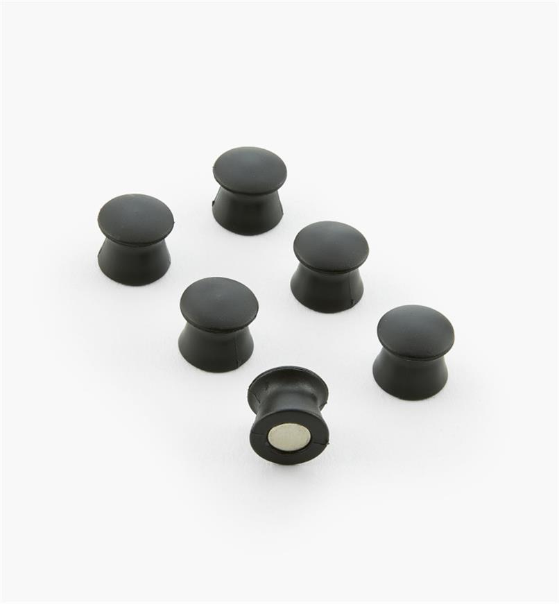 50K2508 - Magnetic Tacks, pkg. of 6