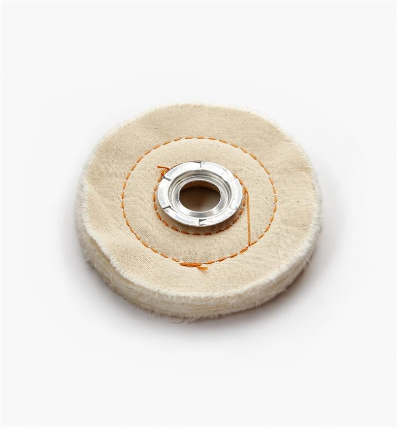 76M0401 - Cloth Buffing Wheel, 4""
