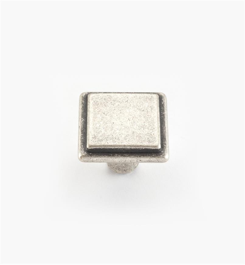 00A7020 - Alfonso Suite - 26mm x 20mm Old Silver Knob