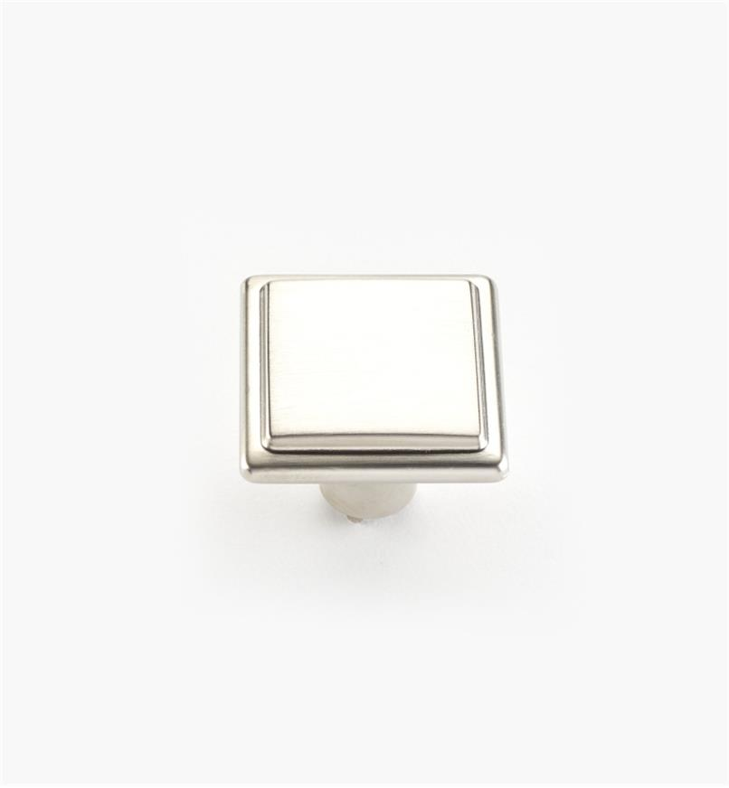 00A7040 - Alfonso Suite - 26mm x 20mm Satin Nickel Knob