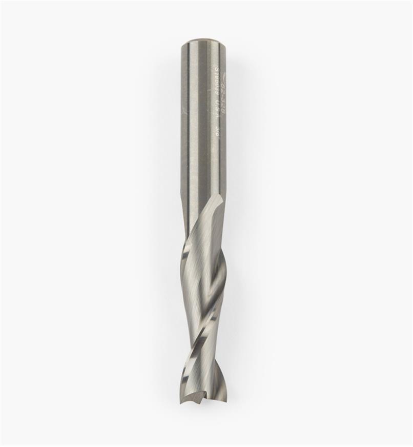 86J0206 - Mèche à spirale Onsrud en carbure cémenté, 3/8 po x 11/4 pox3/8 po