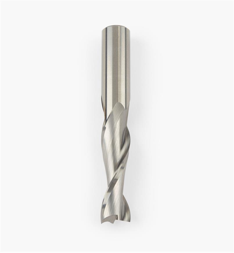 86J0208 - Mèche à spirale Onsrud en carbure cémenté, 1/2 po x 1 1/2 po x 1/2 po