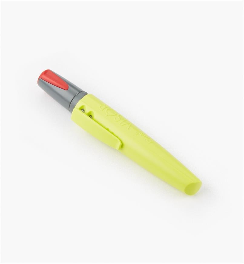 25K0471 - Pica-Visor Red Dry-Erase Crayon, each