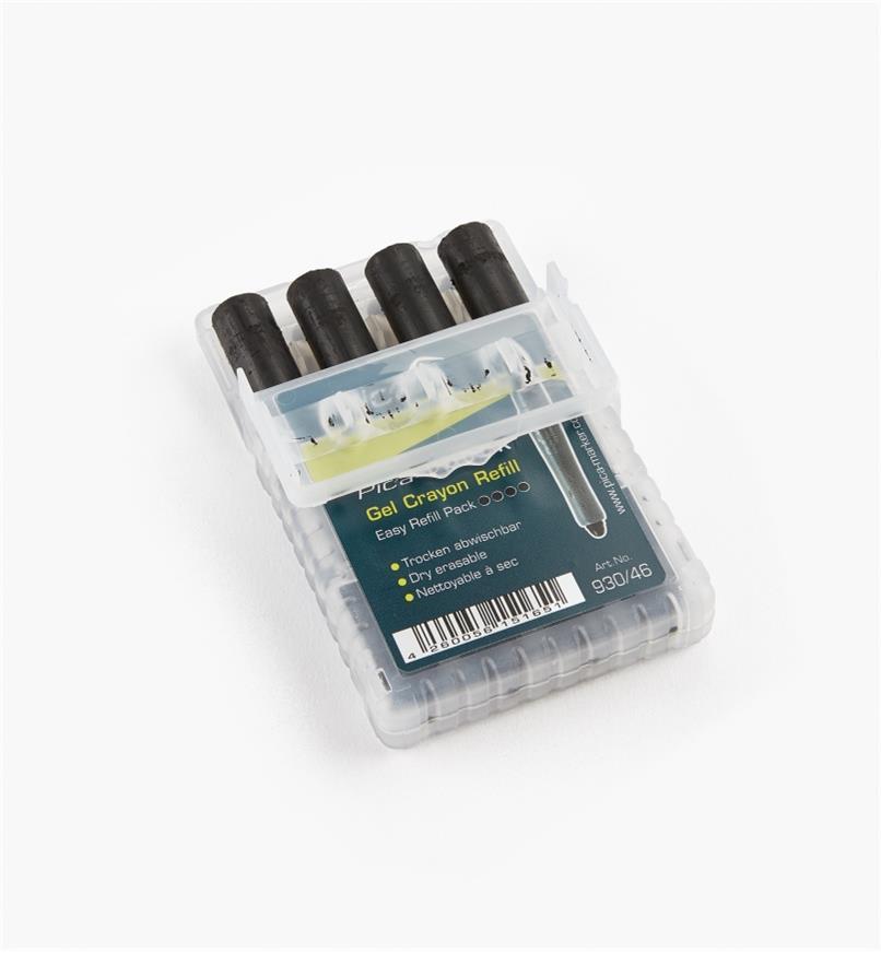 25K0480 - Mines de remplacement Pica-Visor, noir, le paquet de 4