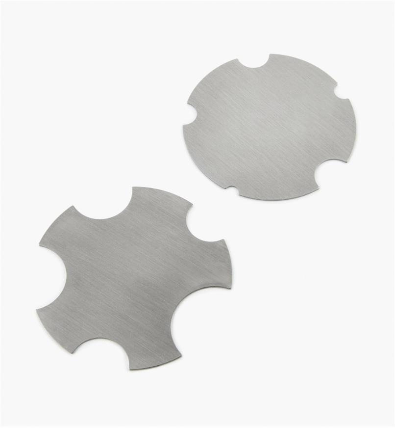 33T0851 - Pax Concave Scrapers, pair
