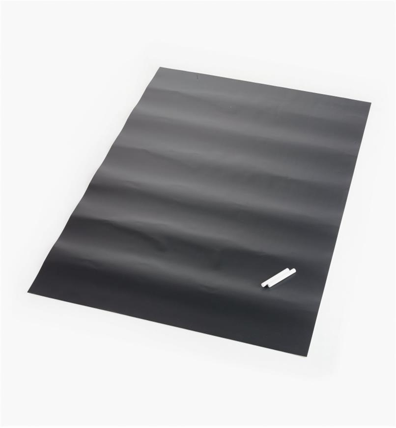 "88K9622 - 25"" x 38"" Peel-and-Stick Chalkboard Sheet, each"