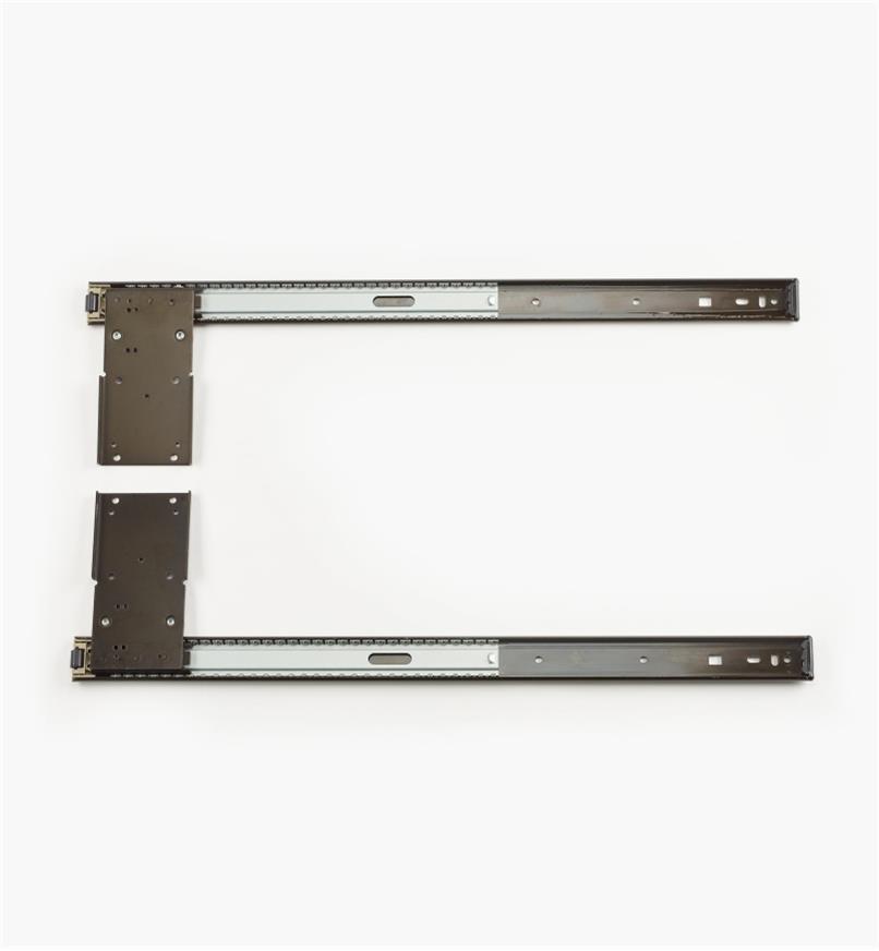 "02K4122 - 22"" Pocket Door Slides, pair"