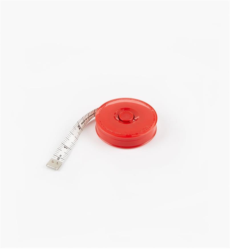 """45K1818 - Pocket Tape Measure, 60""""/150cm"""