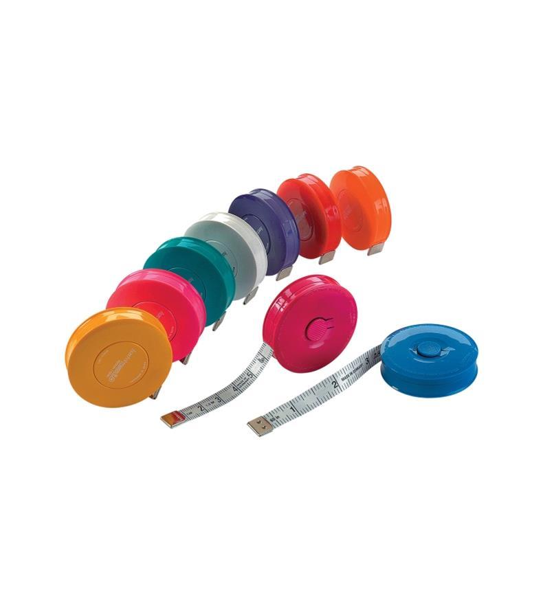 Nine Pocket Tape Measures in assorted colors