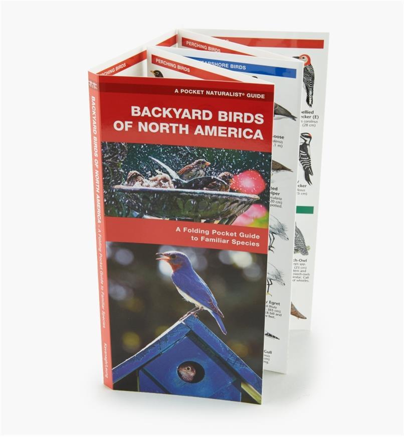 LA254 - Backyard Birds Pocket Guide
