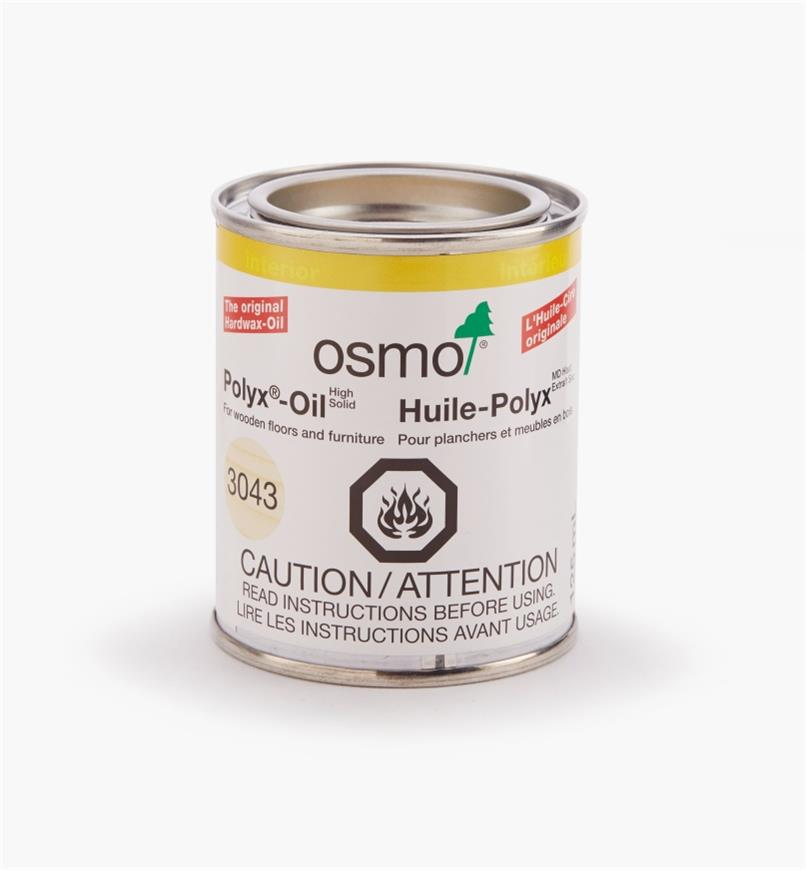 27K2724 - Osmo Polyx 3043 Satin, 125ml (4.2 fl oz)