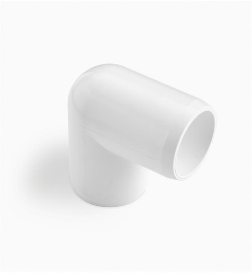 "EA267 - 1/2"" 90° Elbow PVC Connector, each"