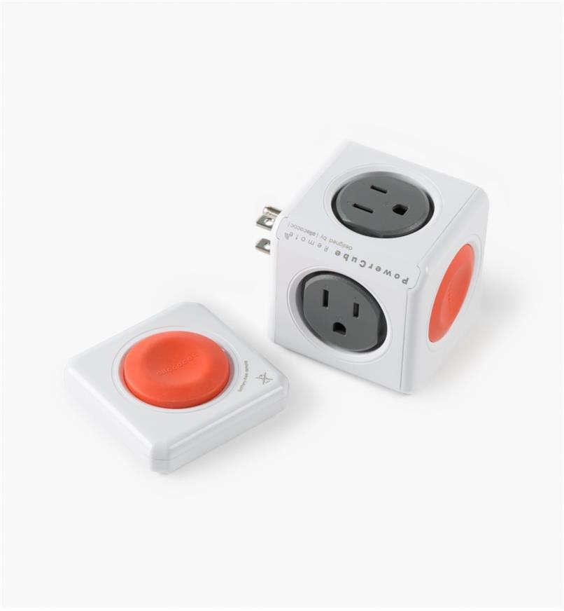 03K5146 - Cube multiprise PowerCube standard avectélécommande