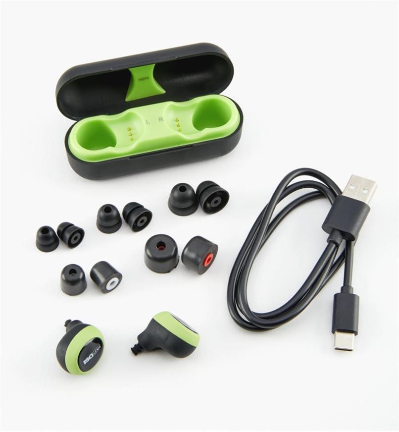 22R1297 - Écouteurs antibruit sans fil ISOtunes