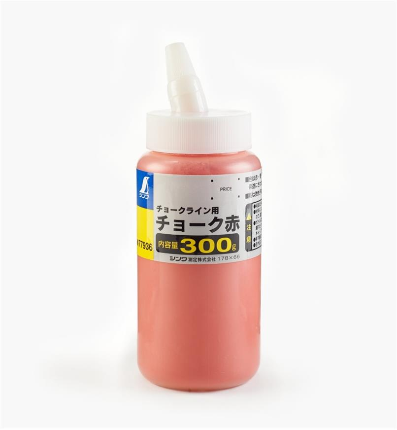 83U0254 - Poudre de craie rouge 300g