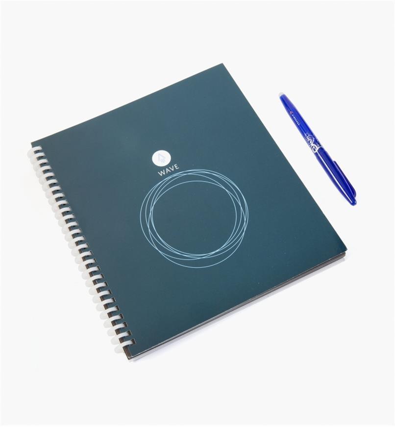 88k9003 - Cahier Wave Rocketbook et stylo bleu FriXion