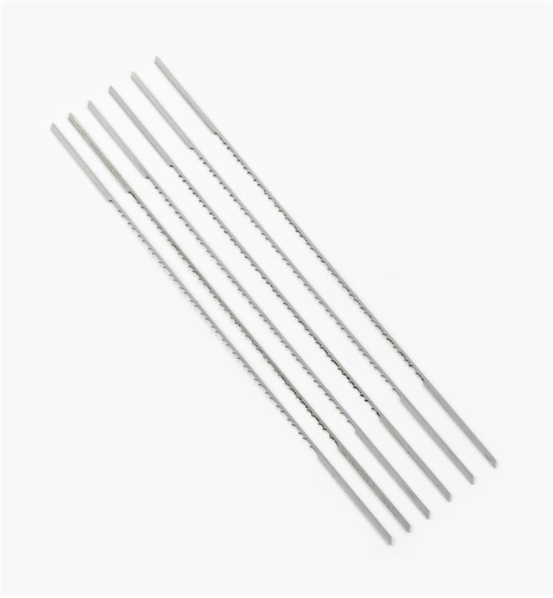 02T1104 - PGT 5RG Double-Reverse Scroll-Saw Blades, pkg of 6