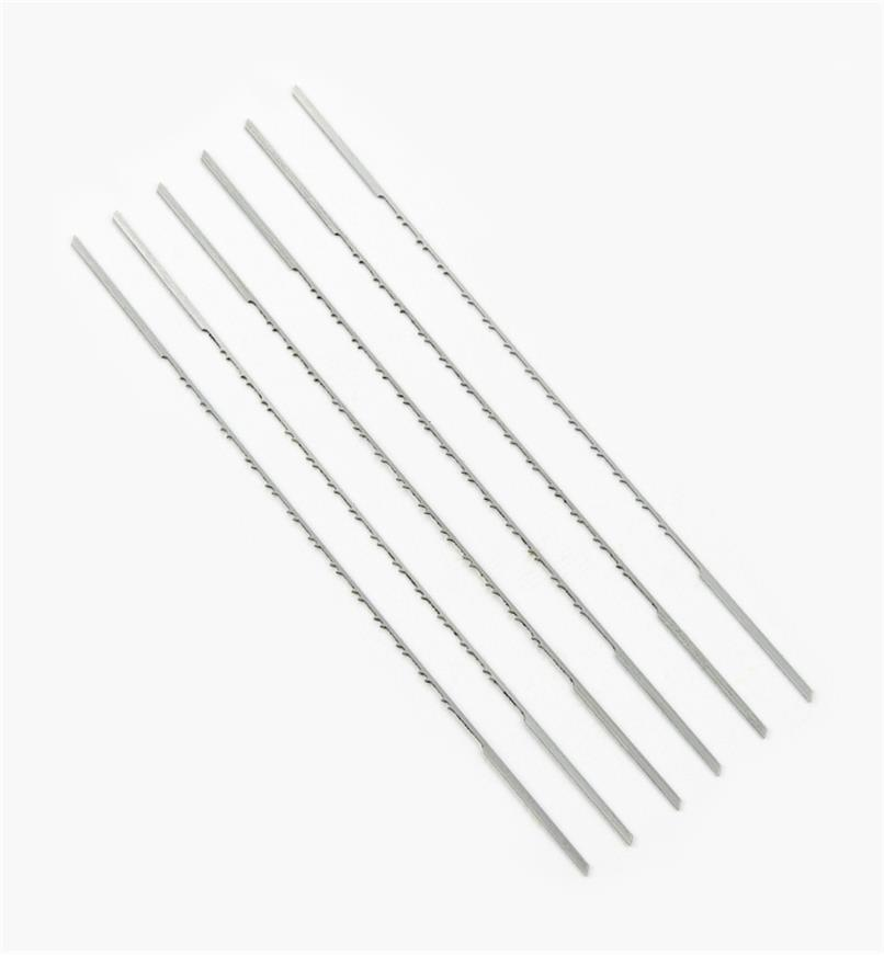 02T1106 - PGT 9RG Double-Reverse Scroll-Saw Blades, pkg of 6