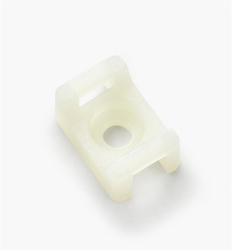 03K7602 - Medium Saddle Cable Tie-Mounts, pkg. of 50