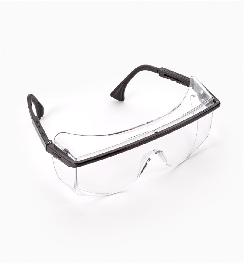 22R7201 - Safety Overglasses, Clear