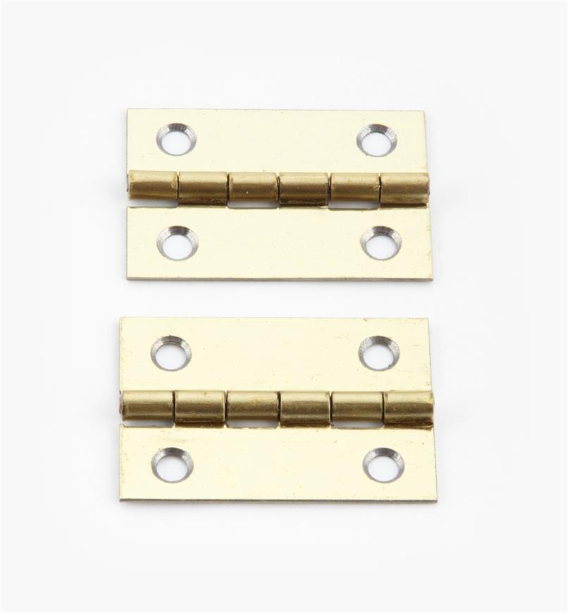 00D3016 - 30mm x 20mmSmall Box Hinges, pr.