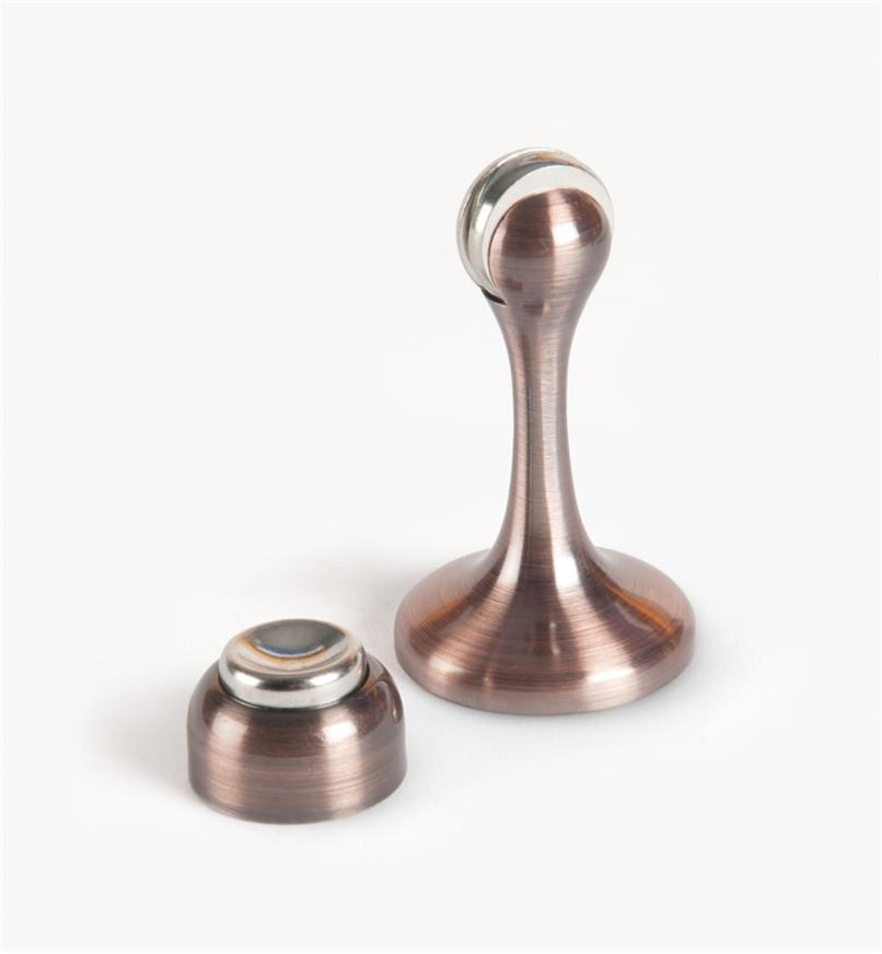 01G5465 - SOSS Magnetic Doorstop, Antique Bronze