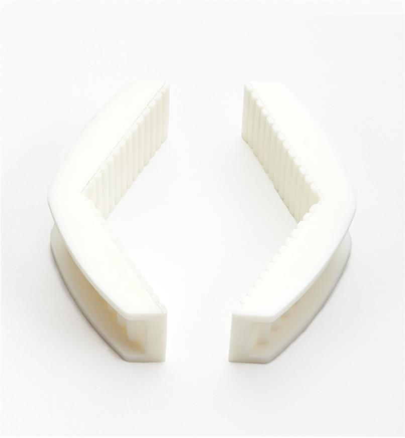 44K0612 - Replacement Square Jaws, Lg.