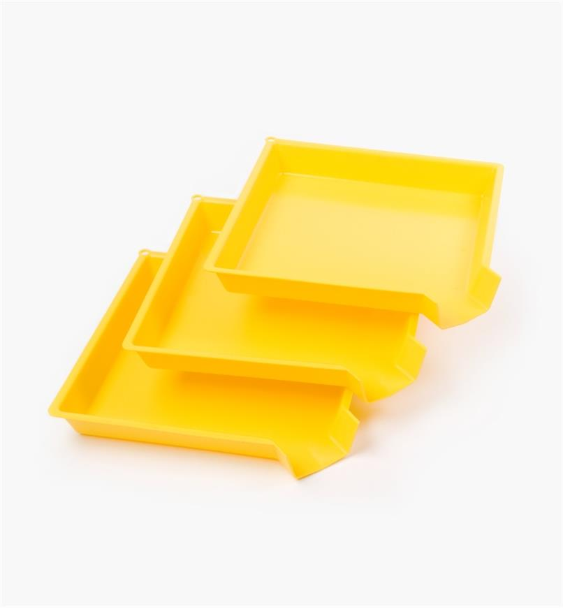 93K8412 - Sorting Trays, pkg. of 3